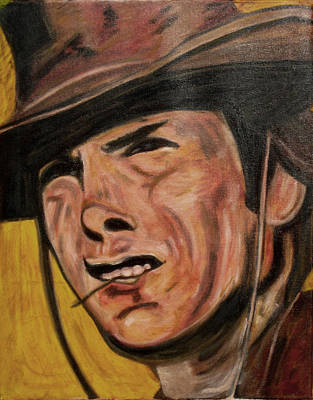 Rawhide Painting - Rowdy by John Pasdach