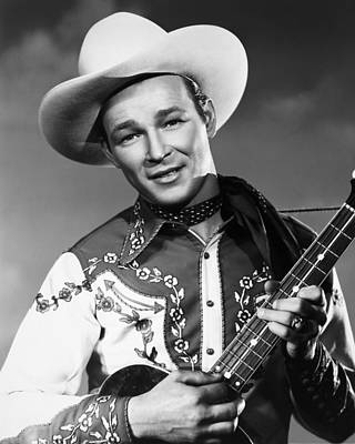 Cowboy Hat Photograph - Roy Rogers by Granger