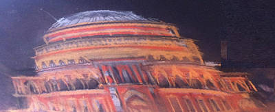 Pastel - Royal Albert Hall by Michelle Deyna-Hayward