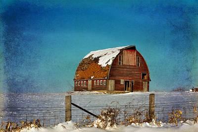 Photograph - Royal Barn Winter 2 by Bonfire Photography