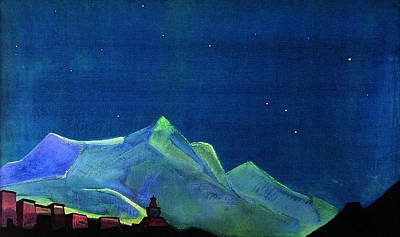 Russian Painting - Royal Monastery by Nicholas Roerich