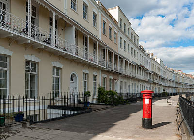 Photograph - Royal York Crescent, Bristol by Colin Rayner