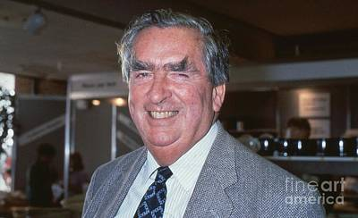 Photograph - Rt.hon. Denis Healey by David Fowler