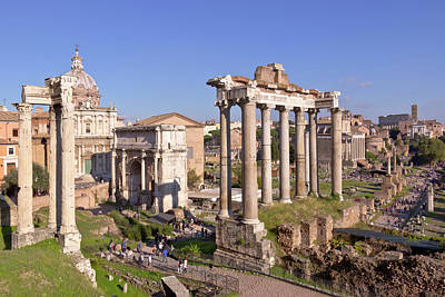 Ruins Of Ancient Rome Preserved. Original by Gino Rigucci
