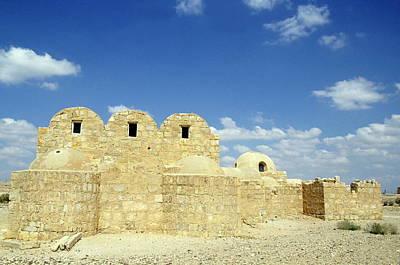 Ruins Of Qasr Amra In Jordan Print by Sami Sarkis
