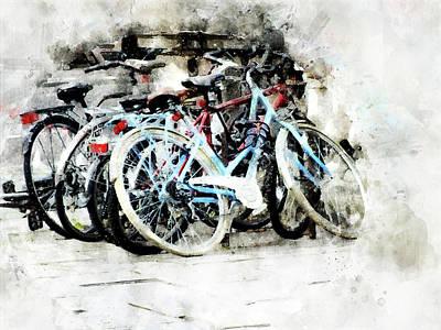 Digital Art - Running by Art Di