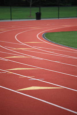 Photograph - Running Track by Frank Romeo
