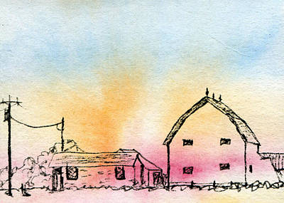 Shed Mixed Media - Rural Nostalgia by R Kyllo