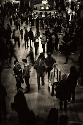 Terminal Photograph - Rush Hour by Jessica Jenney