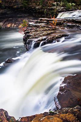 Photograph - Rushing Down  by Parker Cunningham