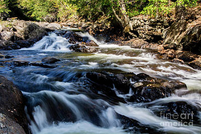 Photograph - Rushing Waters by Deborah Klubertanz