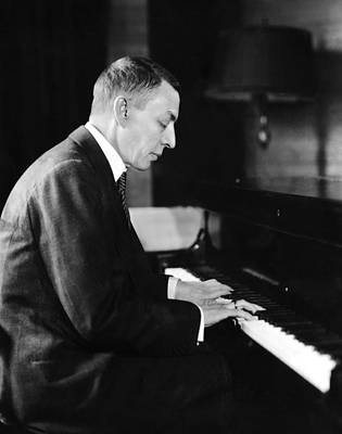 1930s Photograph - Russian Composer And Pianist Sergei by Everett
