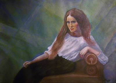 Russian Woman Of The Past Original by Raffi Jacobian