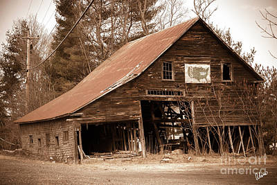 Photograph - Rustic Barn by Alana Ranney