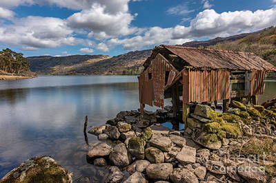 Photograph - Rusty Boathouse by Adrian Evans
