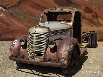 Photograph - Rusty Gold by Steven Parker