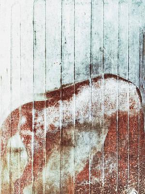 Rusty Metal Background  Art Print by Tom Gowanlock