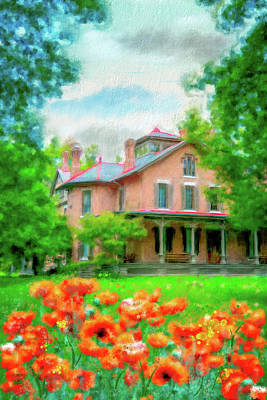Photograph - Rutherford B. Hayes Home by Mary Timman