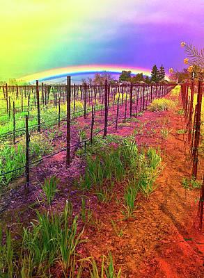 Rutherford Rainbow Art Print