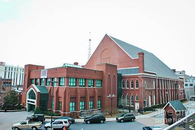 Nashville Photograph - Ryman Auditorium 2 by Pamela Williams