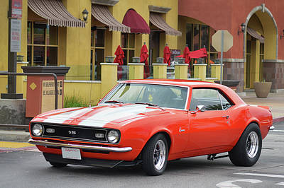 Photograph - S S Camaro  by Bill Dutting