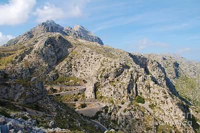 Photograph - Sa Calobra Road In Majorca by David Fowler