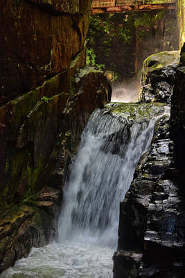 Photograph - Sabbaday Falls by Tricia Marchlik