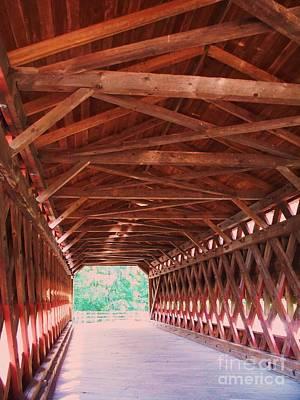 Sachs Bridge Art Print