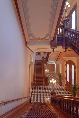 Sacramento State Capitol Interiors Architecture. Original by Gino Rigucci