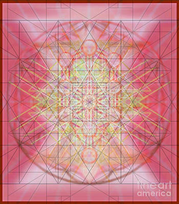 Digital Art - Sacred Symbols Out Of The Void 1b by Christopher Pringer