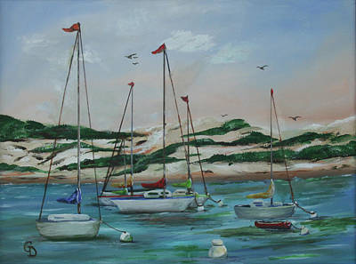 Painting - Safe Harbor by Gail Daley