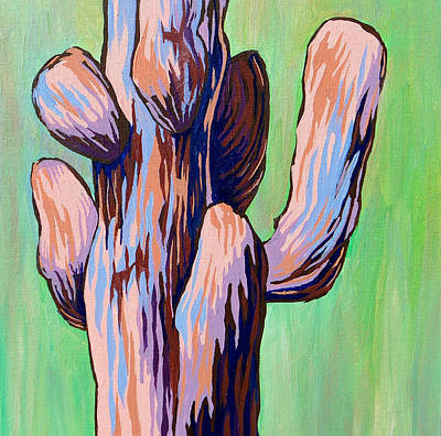 Painting - Saguaro 18 by Sandy Tracey