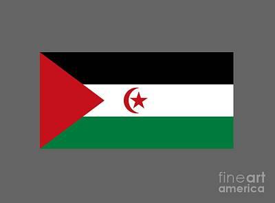 Sahrawi Arab Democratic Republic Flag Original