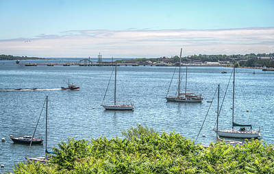 Photograph - Sailboats At Rest by Jane Luxton
