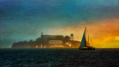 Sailing By Art Print