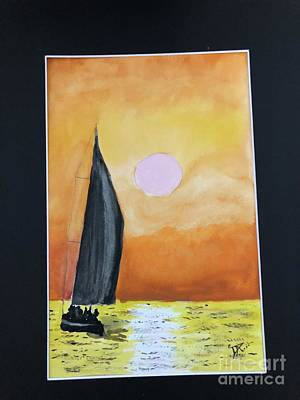 Painting - Sailing by Donald Paczynski