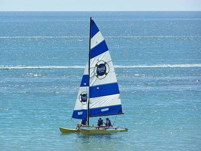 Photograph - Sailing by Pamela Walrath