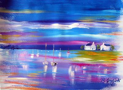 Painting - Sails by Roberto Gagliardi