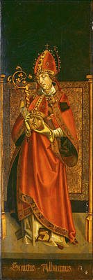 Painting - Saint Alban Of Mainz by Tyrolean 16th Century