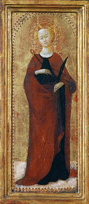 Painting - Saint Apollonia by Sassetta