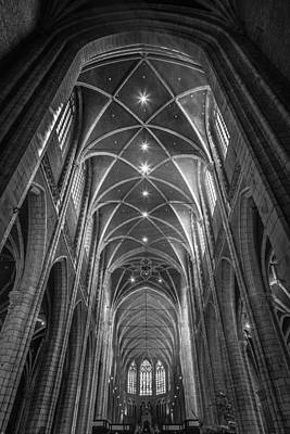 Belgian Photograph - Saint Bavo's Cathedral by Chris Fletcher