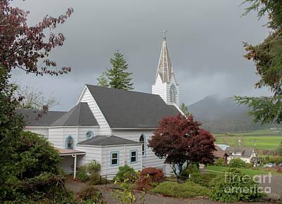 Photograph - Saint Joseph's Catholic Church by Tim Moore