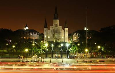 Photograph - Saint Louis Cathedral In New Orleans by Jetson Nguyen