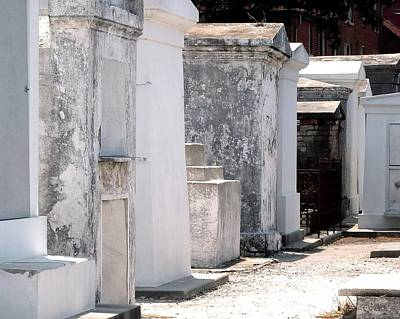Photograph - Saint Louis Cemetery by Jerry Sodorff