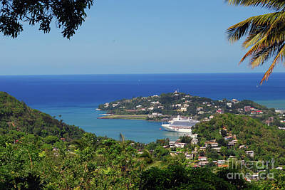 Photograph - Saint Lucia by Gary Wonning