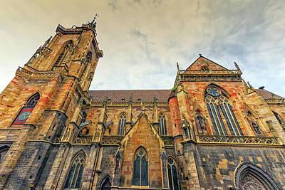Photograph - Saint Martin's Church, Colmar, France by Elenarts - Elena Duvernay photo