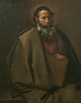 Painting - Saint Paul by Diego Velazquez