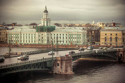 Photograph - Saint Petersburg by Azad Pirayandeh