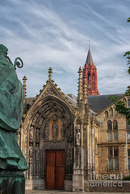 Maastricht Photograph - Saint Servaes And Saint Johns by Patricia Hofmeester