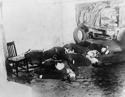 Saint Valentines Day Massacre. Seven Print by Everett